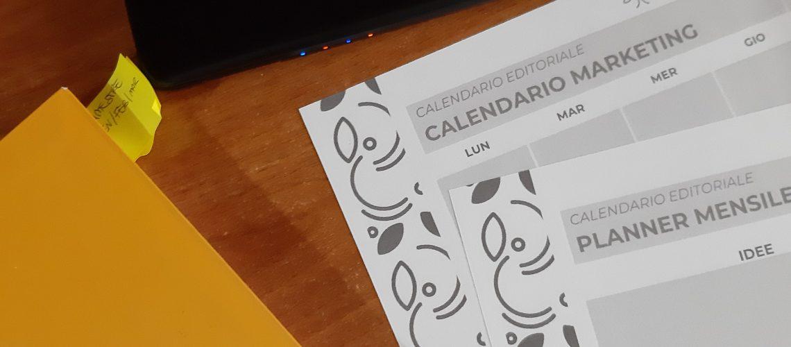 Piano Marketing e Calendario Editoriale©Silvia Usai